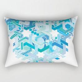 Tessellating Textures Rectangular Pillow