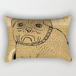 Princess. French bullmastiff Rectangular Pillow