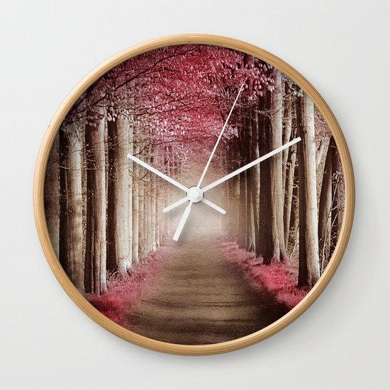 Perfect morning. Wall Clock