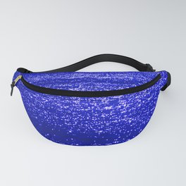 Sparkling Blue Water Fanny Pack