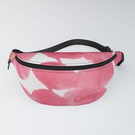 18    | 190408 Red Abstract Watercolour Fanny Pack