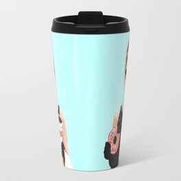 Breakfast at Dunkin Donuts - Audrey Hepburn Travel Mug