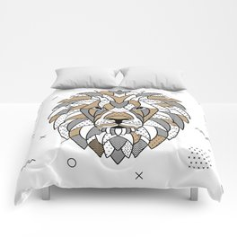 Lion Chocolat Comforters