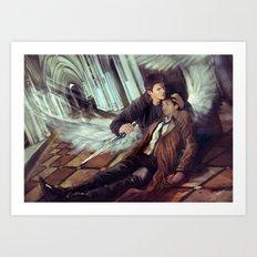 Supernatural Protecting something so Holy Art Print