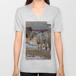 Ranch Horses Unisex V-Neck