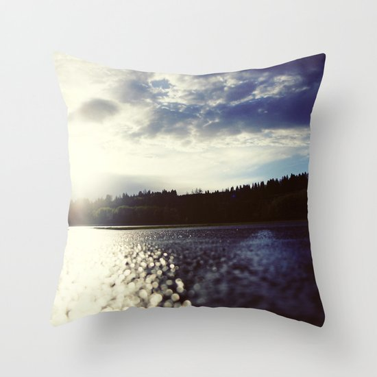 missing the road Throw Pillow
