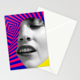 Optical Portrait Stationery Cards