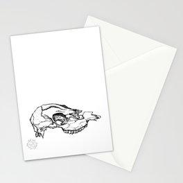 Deer Skull Study Stationery Cards