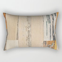 Old painted board Rectangular Pillow