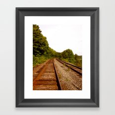 Turns will Come Framed Art Print
