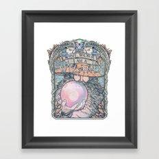 Wizard print Framed Art Print