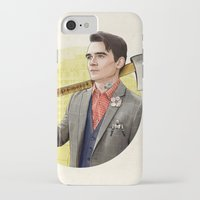 michigan iPhone & iPod Cases featuring Mr. Michigan by keith p. rein