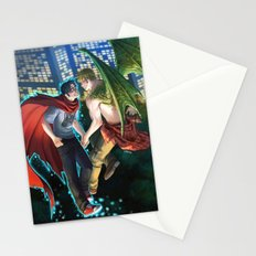 William and Theodore 12 Stationery Cards