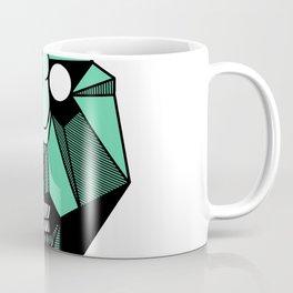 geometric tribal mask Coffee Mug
