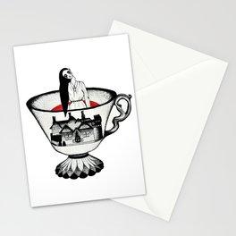 Bent Neck Lady Stationery Cards