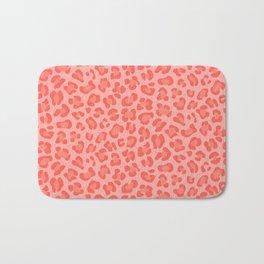 Leopard - Living Coral Bath Mat