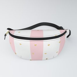 Pink Stripes Fanny Pack