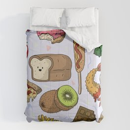 Food Party Comforters