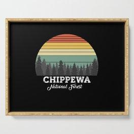 CHIPPEWA MINNESOTA Serving Tray