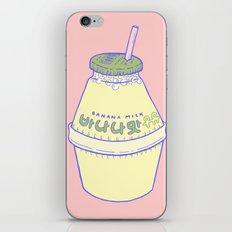 Banana Milk iPhone & iPod Skin