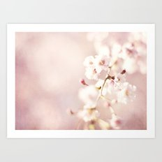SWEET PINK BLOSSOMS Art Print