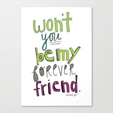 Forever Friend Canvas Print