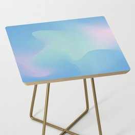 Blue serenity Side Table