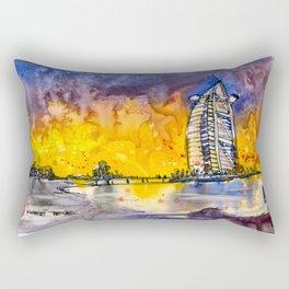 20161026 DUBAI Burj Al Arab Rectangular Pillow