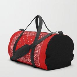 Paisley - Bandana - Red - Southwestern - Boho Duffle Bag