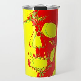 Skull - Red Travel Mug