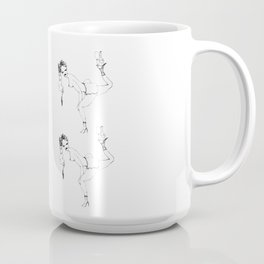 Balance with bottle and glass Coffee Mug