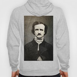 Edgar Allan Poe Engraving Hoody