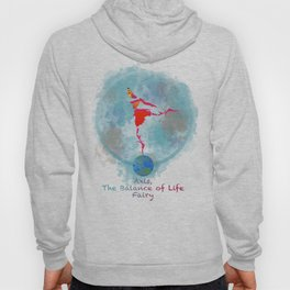 Axis, the Balance of Life Fairy Hoody
