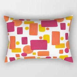Colorplay No. 1 Rectangular Pillow