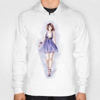 fashion illustration Hoodies featuring Fashion illustration by Tania Santos