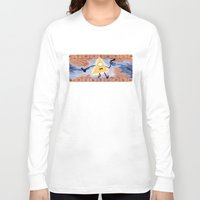 bill cipher Long Sleeve T-shirts featuring Bill Cipher by Vaahlkult