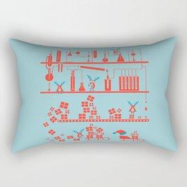 Reindeer Factory Rectangular Pillow