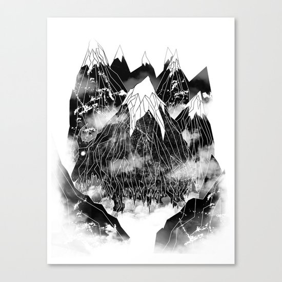 Valley of the Mountain Goat Canvas Print