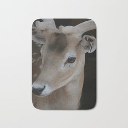 Young deer, portrait Bath Mat