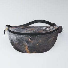 Something Completely Unlike Marble Fanny Pack
