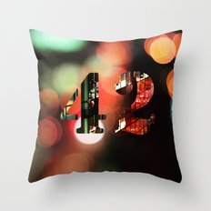 The answer to the ultimate question Throw Pillow