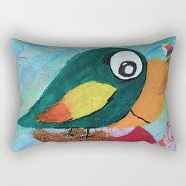 Sven - Quirky Bird Rectangular Pillow
