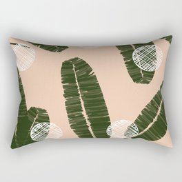 Palms & Dots #society6 #decor #buyart Rectangular Pillow