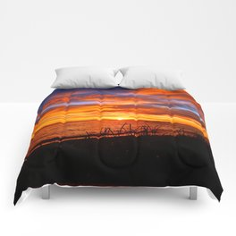 Spectacular Sunrise on the Saint-Lawrence Comforters