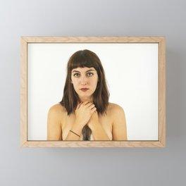 Morgan 3 (Portrait of a Woman) Framed Mini Art Print