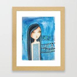 Like a whisper Framed Art Print