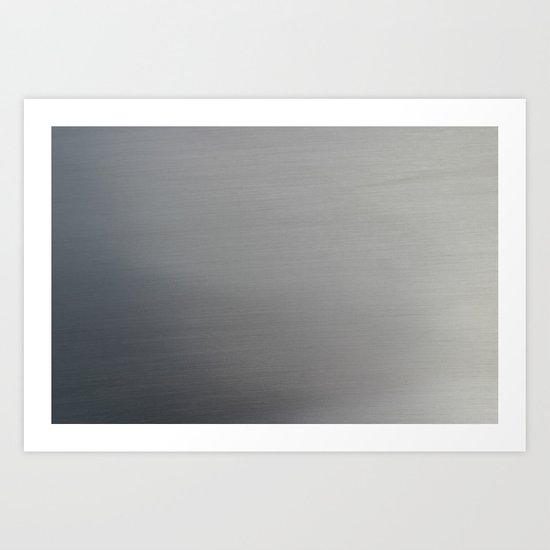 Brushed Metal Art Print