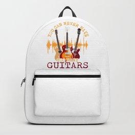 Too Many Guitars Backpack
