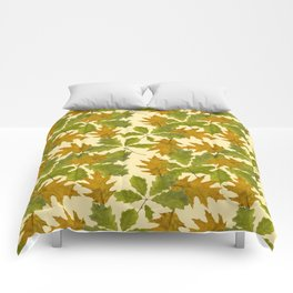 Leaves Camouflage Pattern Comforters