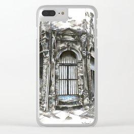 Marys Abbey Doorway Clear iPhone Case